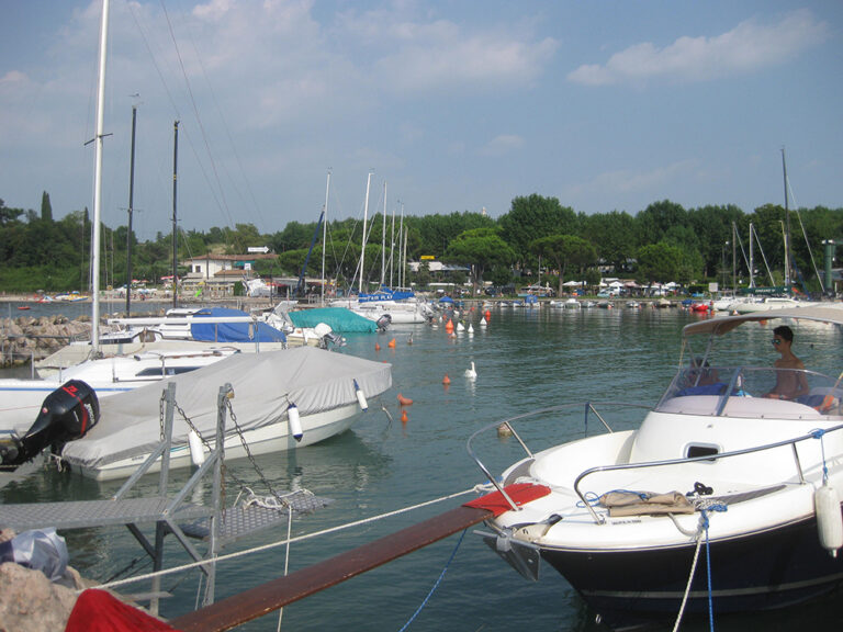 steiger bij eurocamping Pacengo aan het Gardameer