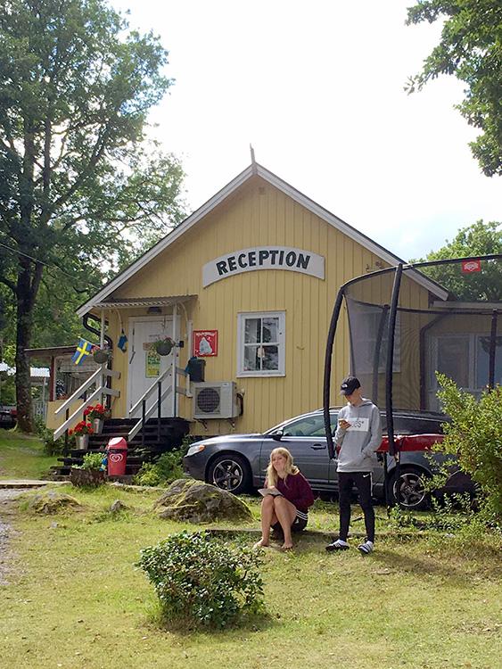 Camping Lövekulle Alingsås receptie