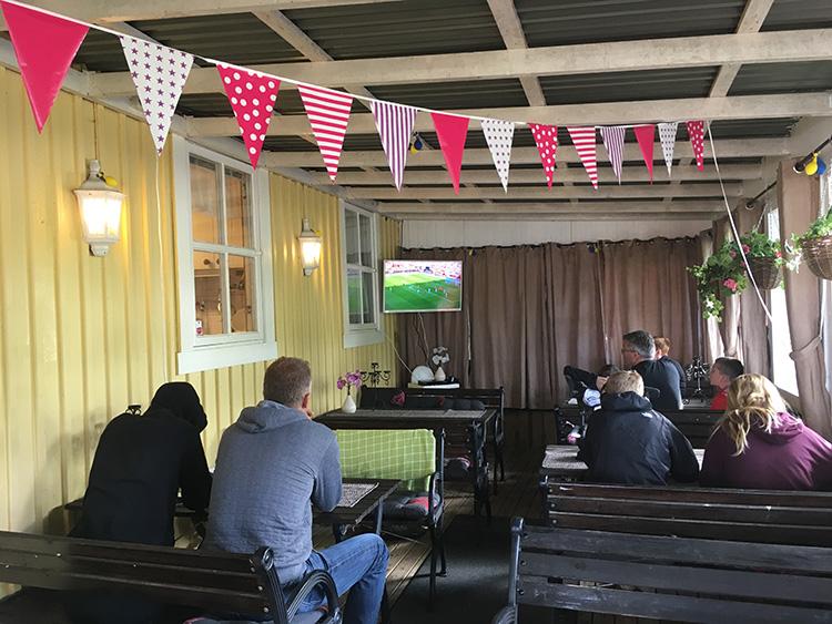 Camping Lövekulle Alingsås tv ruimte