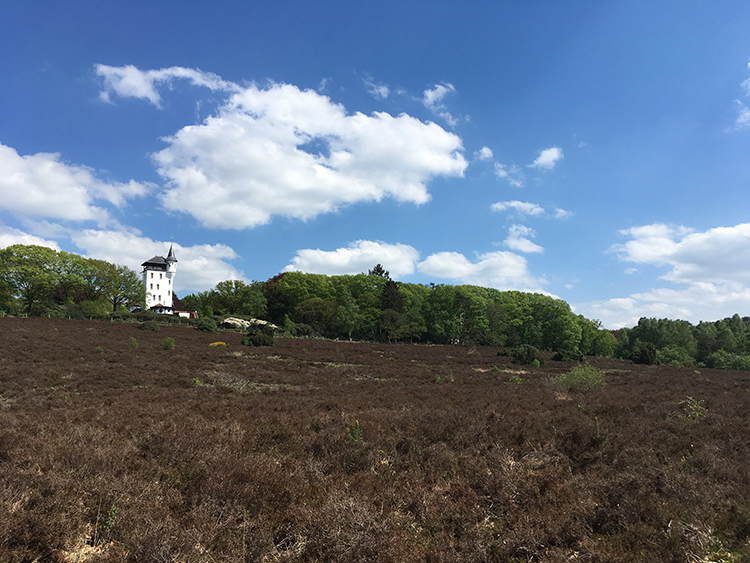 Landhuis 'De Sprengenberg' bij Haarle