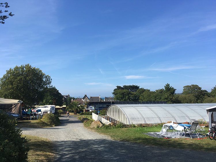 camping Saint Efflam met zwembad