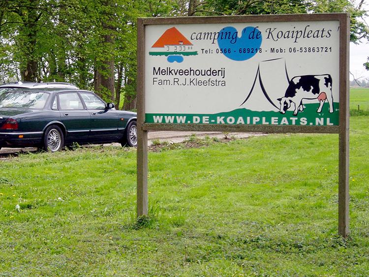 ingang camping de koaipleats in terherne