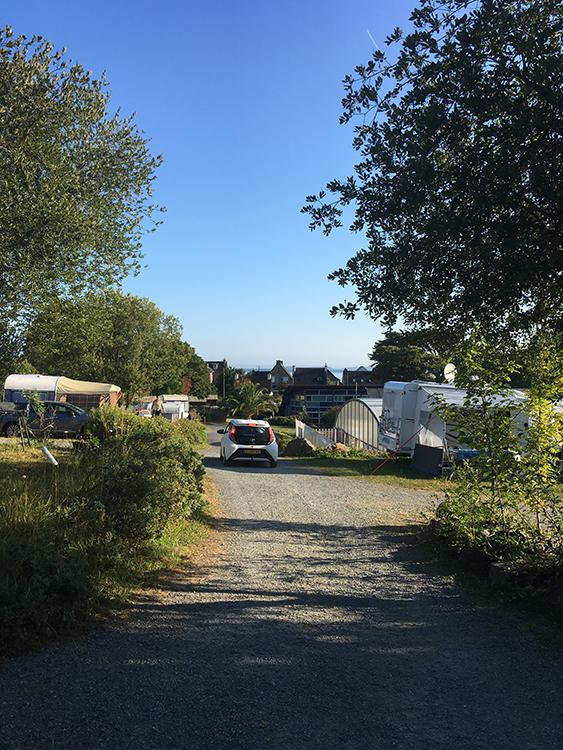 deel van camping Saint Efflam