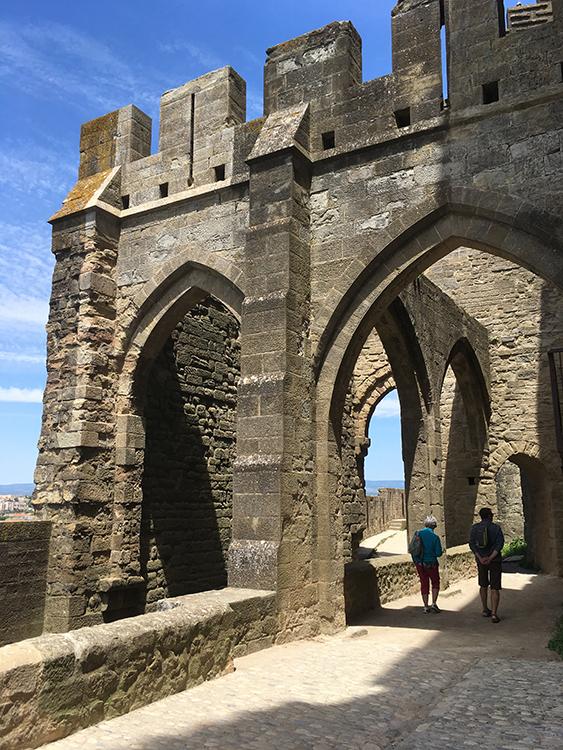 in kasteel Carcassonne