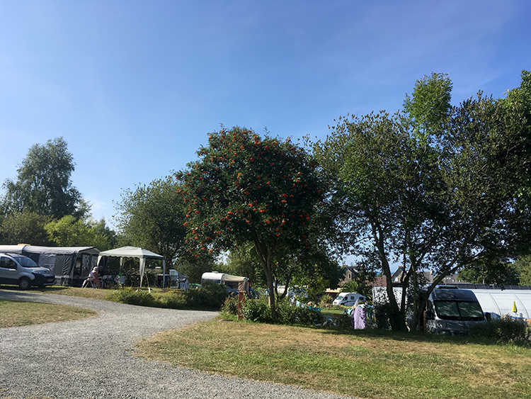 kampeerplekken camping Saint Efflam