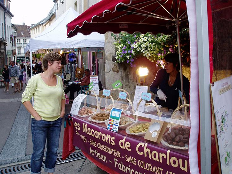 Arnay le Duc markt