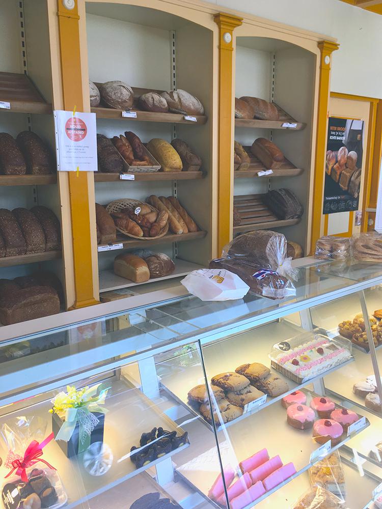 winkel binnen bij bakkerij bruinsma in winsum