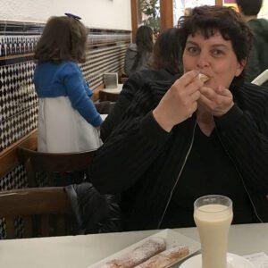 gonny bakker bij horchata in valencia