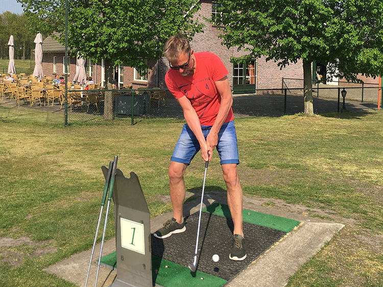 afslag golf Pitch&Putt Golf Lemele