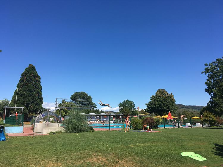 camping Kaserstuhl ligweide zwembad