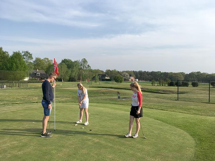 golfen bij Pitch&Putt Golf Lemele