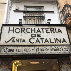 ingang Horchateria Santa Catalina