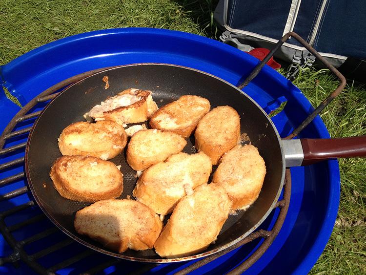 wentelteefjes van stokbrood