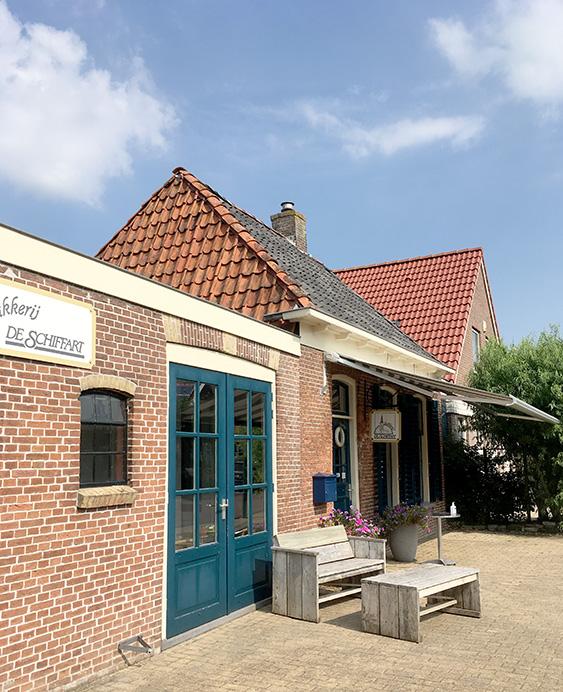Bakkerij de Schiffart in Witmarsum Friesland