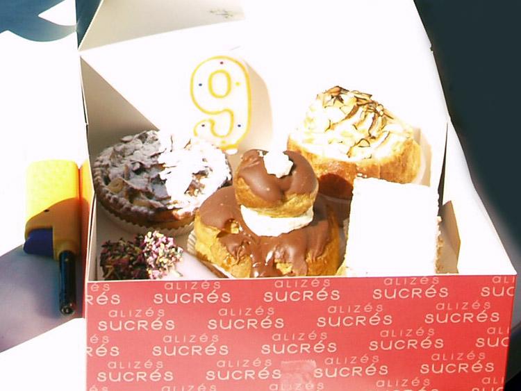 gebakjes van Boulangerie Scelles Saint-Aubin-sur-Mer