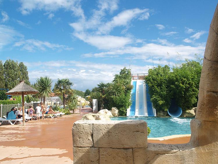 Camping Sandaya Côte de Nacre zwembad