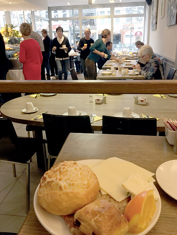 De Keyser Hotel Antwerpen ontbijt