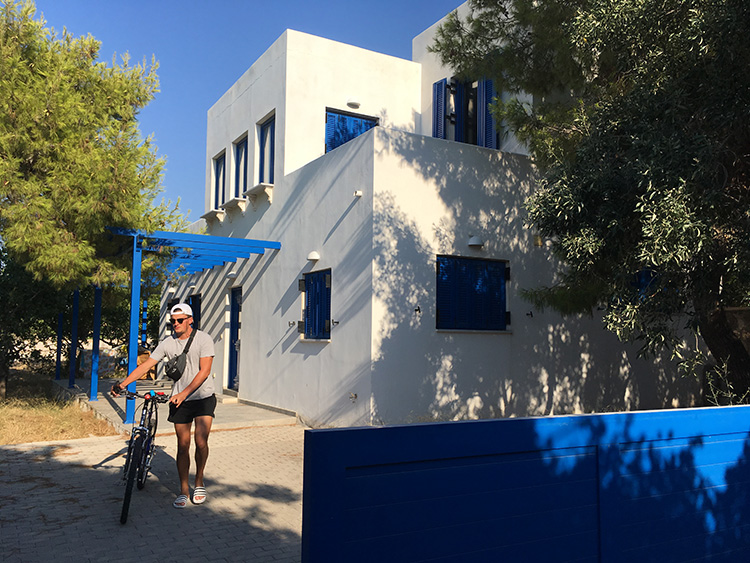 Villa Aleni op het eiland Aegina