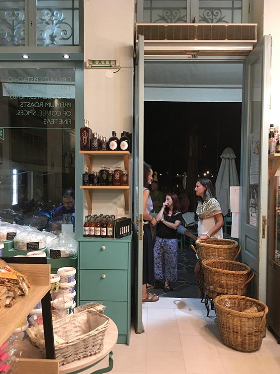 de winkel van Mourtzis Aegina Stad