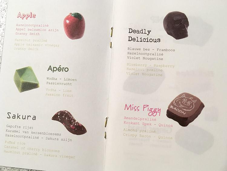 pralines van The Chocolate Line Antwerpen