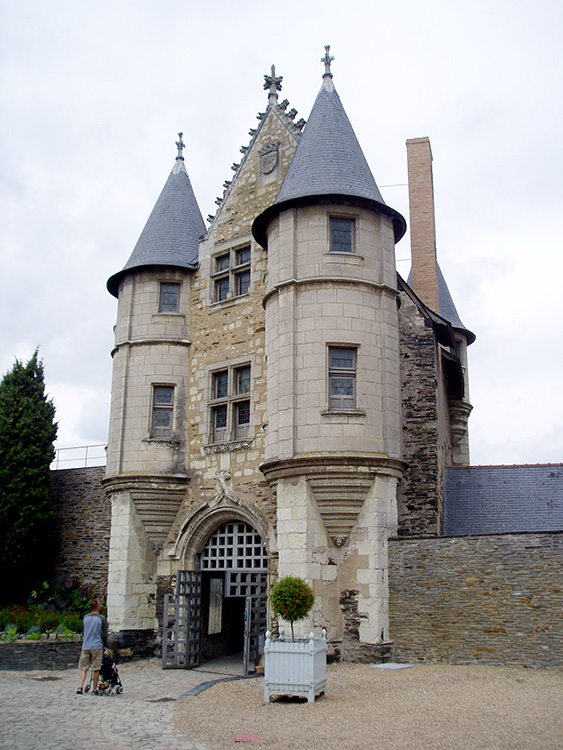 angers kasteel ingang