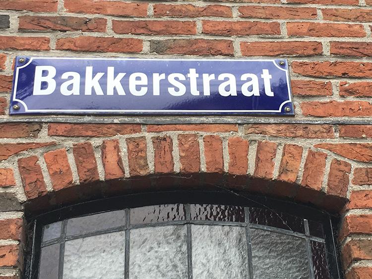 bakkerstraat in sloten