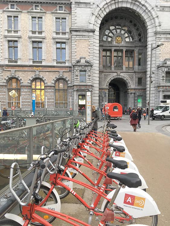 fiets huren in antwerpen via velo antwerpen