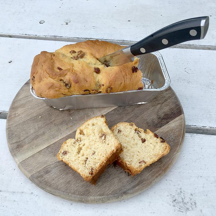 kwark broodje van de echte bakker