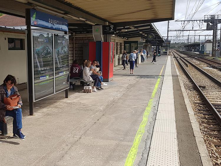 treinstation Rambouillet