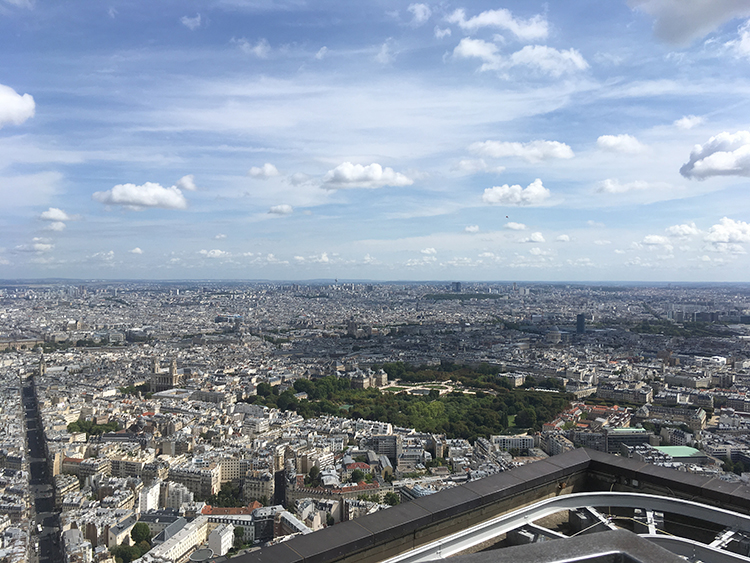 uitzicht vanaf tour montparnasse