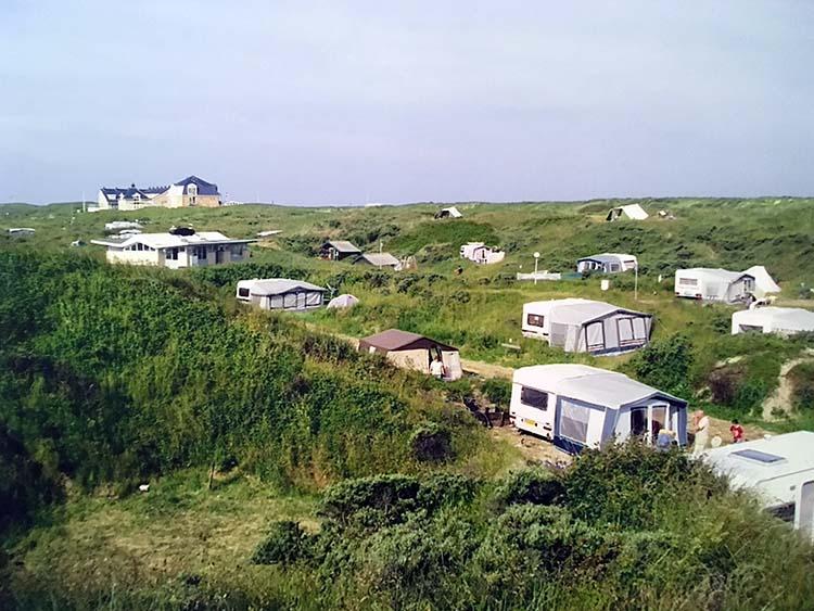 kamperen op camping Kogerstrand De Koog