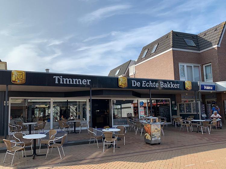 De echte bakker timmer in De Koog Texel